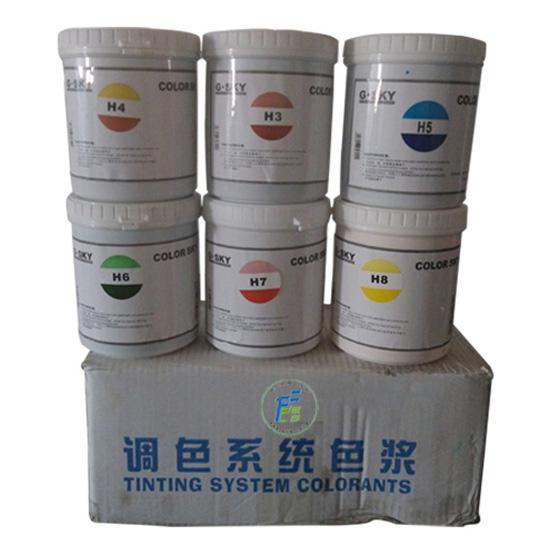 乳胶漆水性机用色浆
